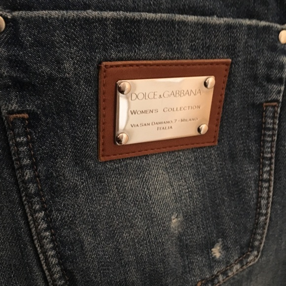df6bfd5014 Dolce & Gabbana Jeans | Dolce Gabbana Gold Tag | Poshmark
